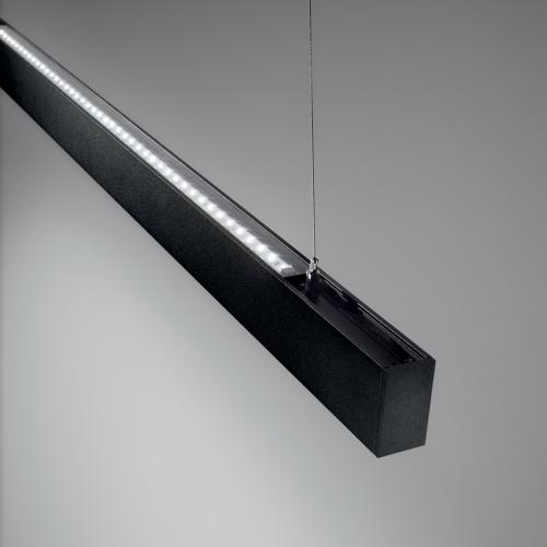 IDEAL LUX - LED линейно тяло DRAFT-1  10V, 50W, 4000K BLACK 222783