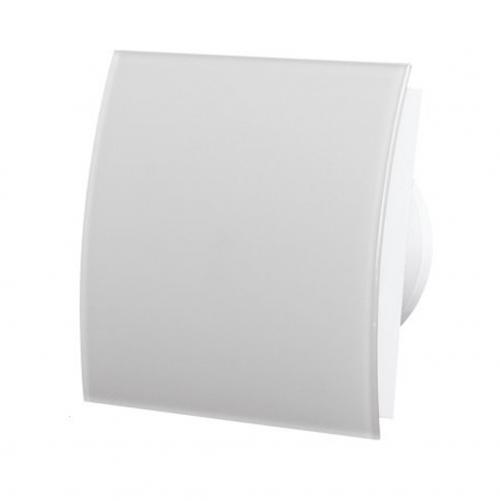 MMOTORS - Вентилатор за баня MM-P 100/169 стъкло, бял мат, овал