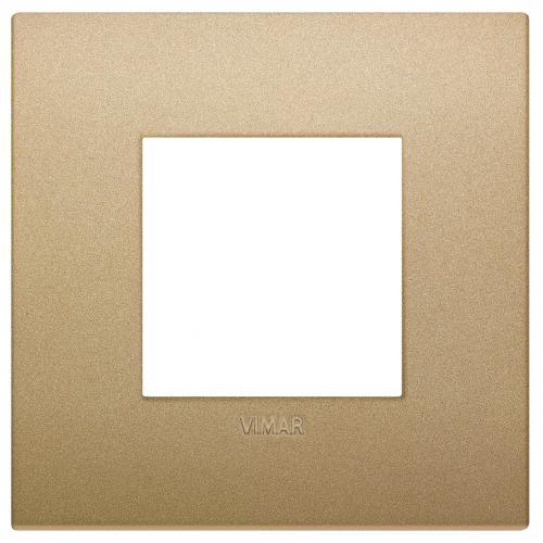 VIMAR - 19642.78 - Arke Двумодулна рамка Classic технополимер matt gold