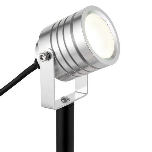 SAXBY - градински фенер LUMINATRA 78635 LED 4W, 4000K, 1300LM, IP65