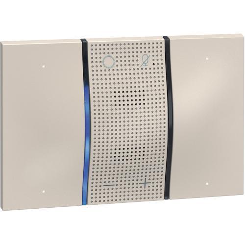 BTICINO - Гласов контрол с  вграден Amazon Alexa 3мод. крем KM8013 Living Now Smart