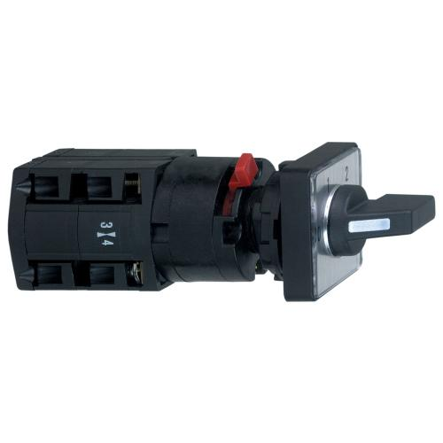 SCHNEIDER ELECTRIC - Пакетен превключвател Harmony 0-1-2 2P 10A Ø22mm K10D012QCH