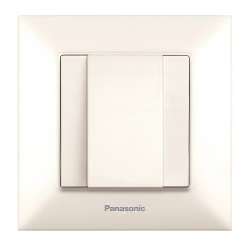 PANASONIC - Кабелен излаз  Panasonic Arkedia Slim крем WNTC0702-2BG