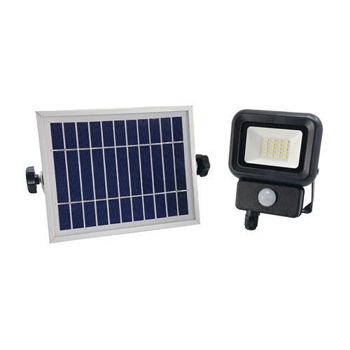 VITO - LED прожектор соларен със сензор SOLIS 10W IP65 6000K студена светлина 3021960