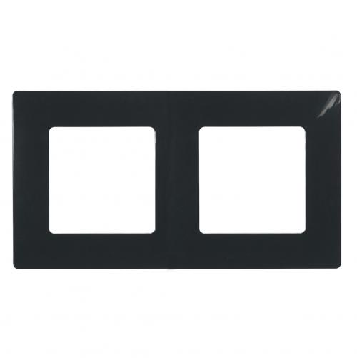 LEGRAND - Двойна рамка NILOE 397052 черен