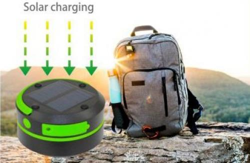 COmmel - Соларна LED лампа 1W 65 lm с акумулатор 0,8Ah, USB charger, SOS опция 401-712