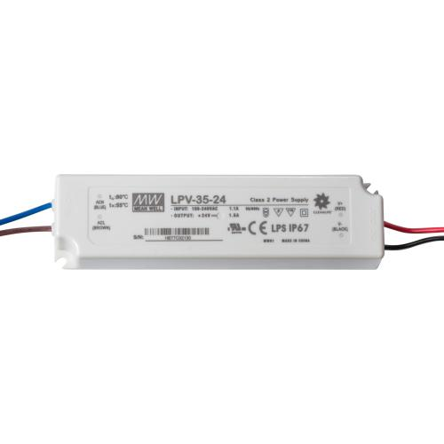 MEAN WELL -  Водоустойчиво LED захранване LPV-35-24