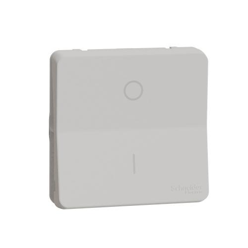 SCHNEIDER ELECTRIC - Ключ за бойлер двуполюсен 16А механизъм IP55 Mureva  цвят Бял MUR39033