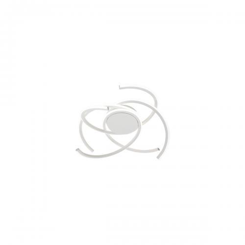REDO GROUP - Плафон  ALIEN 01-1799 PL LED 45W D500 3000K SAND WHITE
