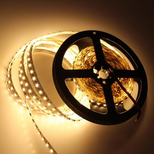 ULTRALUX - LW2835120WW LED лента SMD2835, 9.6W/m топло бяла, 12V DC, 120 LEDs/м, 5m, водоустойчива IP65
