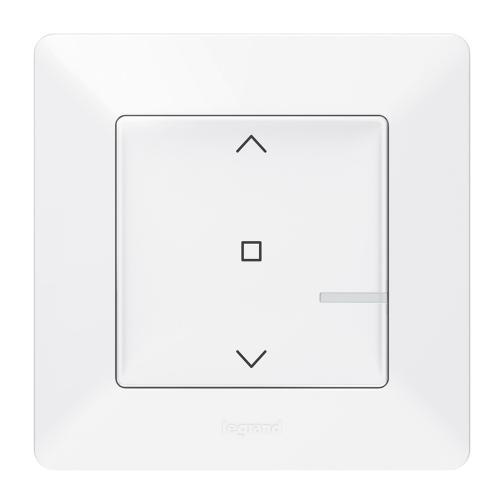 LEGRAND - Свързан ключ за щори жичен Netatmo 752190 Valena Life