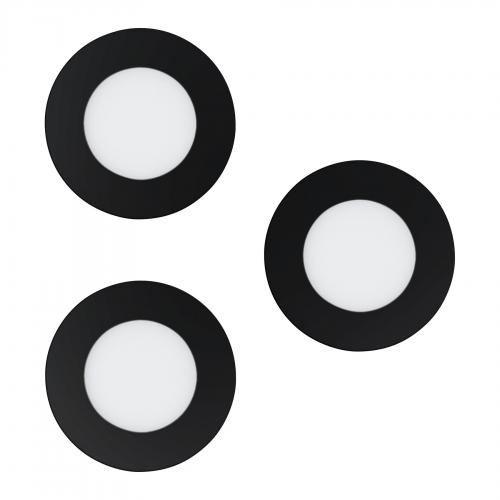 EGLO - LED луна за вграждане комплект 3бр. FUEVA-Z 900105