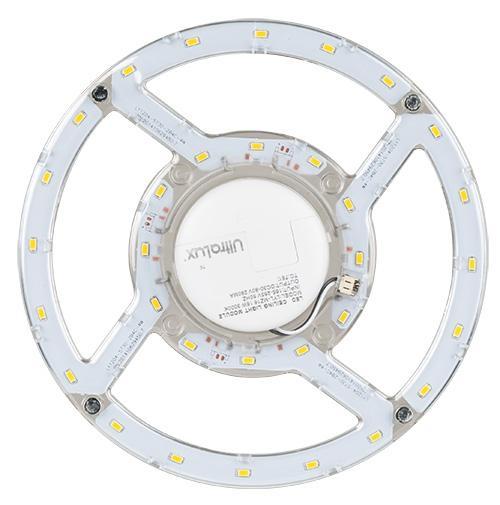 ULTRALUX -  LMP1640 МАГНИТЕН LED МОДУЛ ЗА ПЛАФОНИЕРИ, 16W, 4000K, 220V