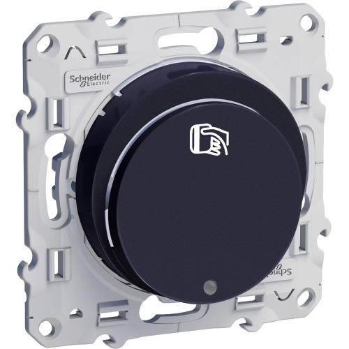 SCHNEIDER ELECTRIC - S540283 Ключ-карта с глим лампа Odace антрацит