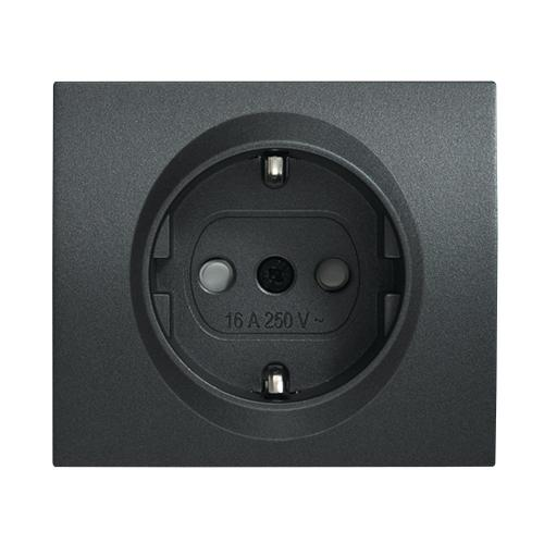 PANASONIC - Socket 2P+E, With Child Protection, Cover WBTR0202-5DG