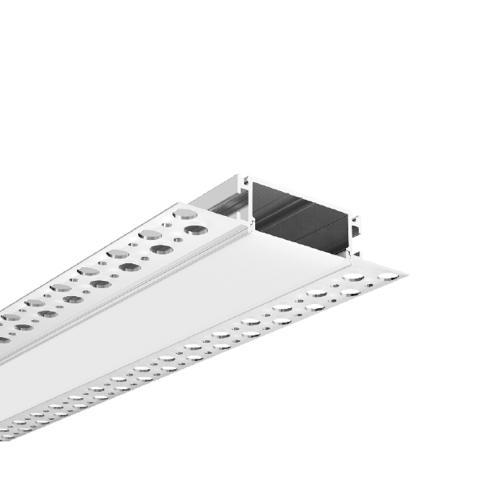 ACA LIGHTING - Алуминиев профил за лед лента за вграждане прав 2м. P81