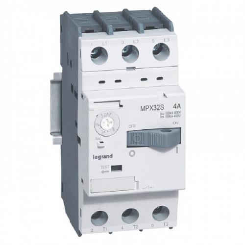 LEGRAND - Моторна защита 3P 2,5-4A тип MPX3 32S 417307