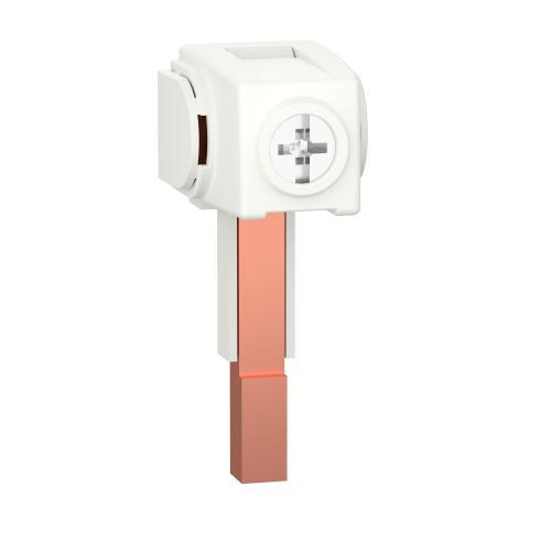 SCHNEIDER ELECTRIC - Захранващи конектори 100A за кабел 35 mm2 (4 бр.) двойни A9XPCD04