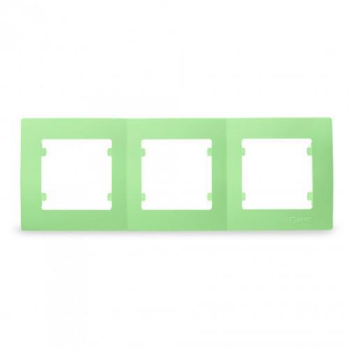 MAKEL - Тройна рамка зелена Lillium Natural Kare 32091703