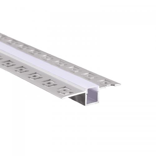ACA LIGHTING - Алуминиев профил за лед лента за вграждане прав 2м. P121