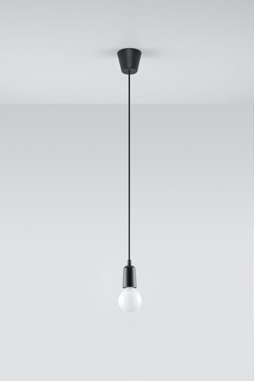 SOLLUX - Пендел  DIEGO 1 black  SL.0572