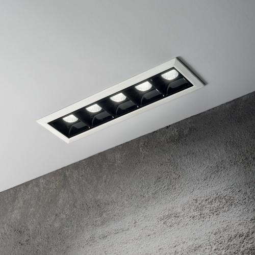IDEAL LUX - LED луна за вграждане   LIKA FL5 TRIM 206219