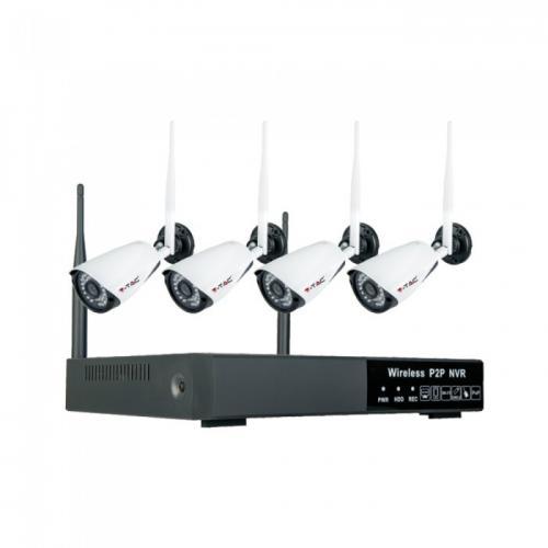 V-TAC - 1080P Wireless NVR Camera EU Plug Full Set IP 20 SKU: 8400 VT-5188
