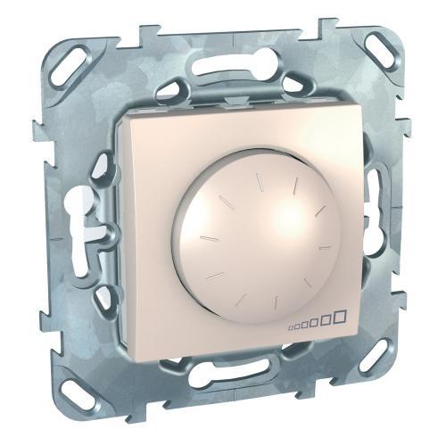 SCHNEIDER ELECTRIC - MGU5.513.25 Универсален димер девиатор UNICA за LED лампи 400 W, слонова кост