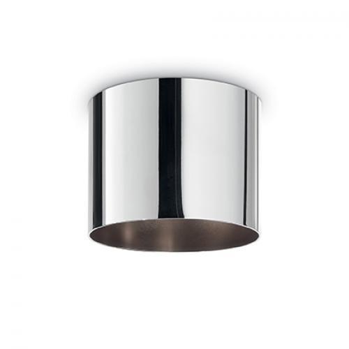 IDEAL LUX - Розетка за таван  ROSONE METALLO 5 LUCI ROUND Cromo 138107