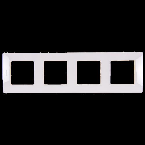 LEGRAND - Четворна рамка NILOE 665004 бяло