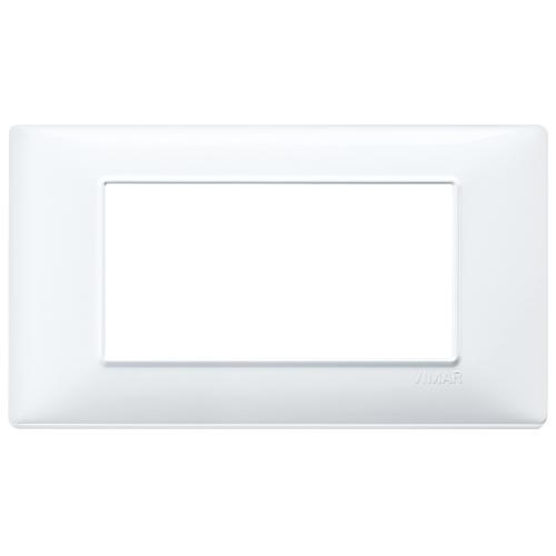 VIMAR - 14654.01 - Plate 4M techn. white