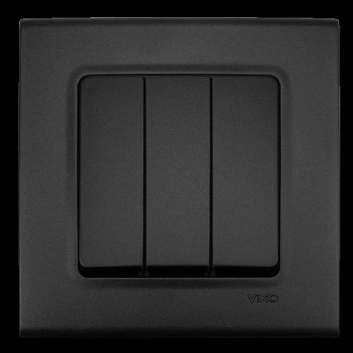 VIKO - Троен ключ LINNERA LIFE черно 90404068-BG