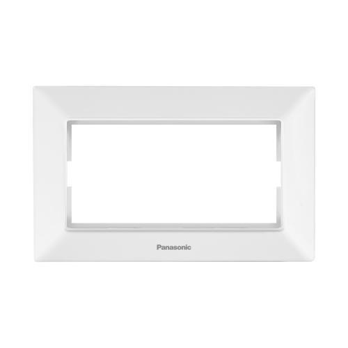 PANASONIC - Рамка за двоен контакт бяло Panasonic Arkedia Slim WNTF0809-2WH