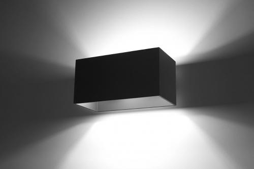 SOLLUX - Аплик   QUAD MAXI black  SL.0527