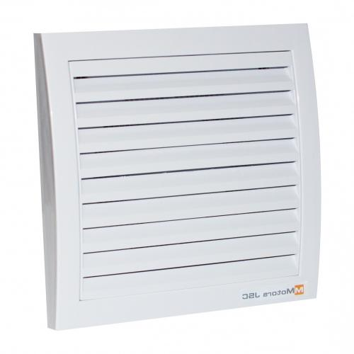 MMOTORS - Вентилатор с намалена дължина GOLD-MM100 квадрат с клапа