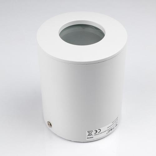 V-TAC -  GU10 Корпус Външен Монтаж Кръг Бял IP54 SKU: 3669 VT-711