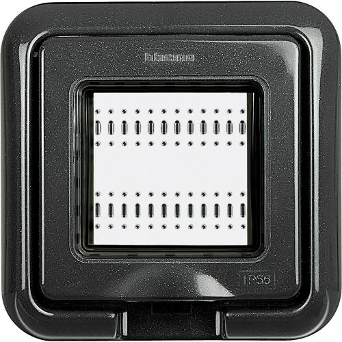 BTICINO - 24602L Рамка 2М Anthracite IP55 Livinglight