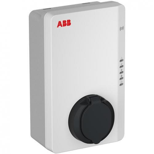 ABB - Зарядна станция за електрически автомобили Terra 22.1 kW 3P 32A контакт Type 2, IP54 IK08 6AGC081279