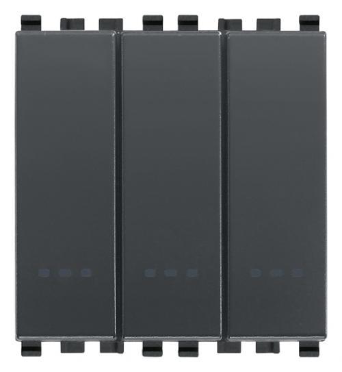 VIMAR -  20003 - Arke триполюсен ключ 1P 20A сив