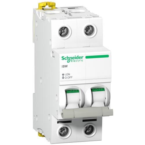 SCHNEIDER ELECTRIC - Товаров прекъсвач /шалтер/ Acti 9 iSW 2P 63A 415V 2 мод. A9S65263