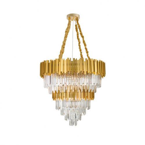 NOVA LUCE - Полилей GRANE 9050120 LED E14 20x5W 230V IP20 Bulb Excluded D: 85 H1: 60 H2: 120 cm
