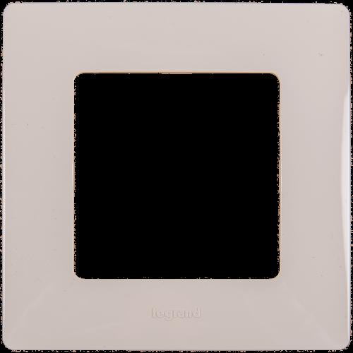 LEGRAND - Единична рамка NILOE 665011 крем