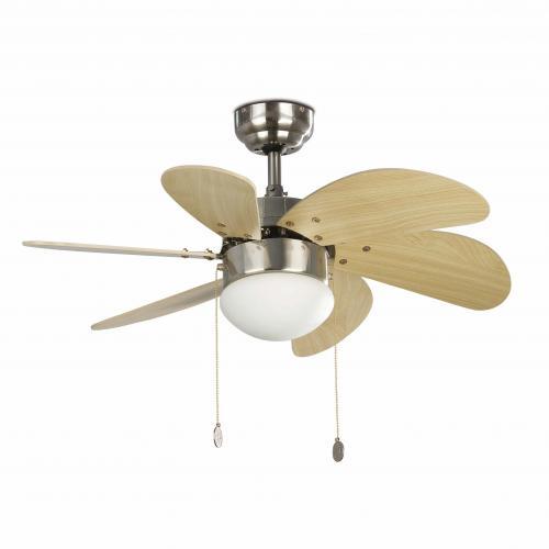 FARO - Таванен вентилатор със осветление PALAO 33183
