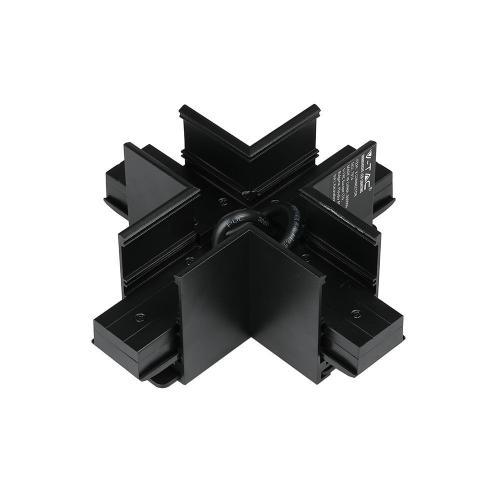 V-TAC - Кръстат Х Конектор за Магнитна Релса SKU: 7974
