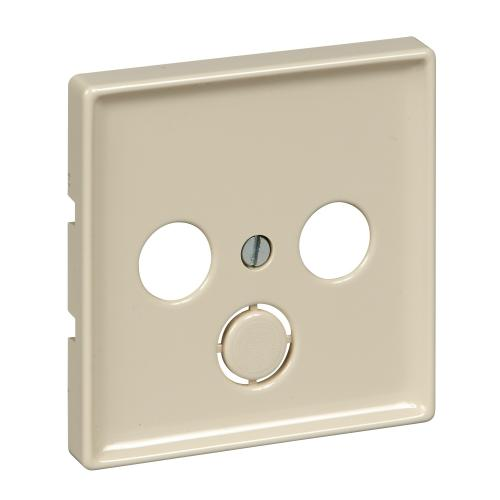 SCHNEIDER ELECTRIC - MTN294144 cover plate TV+SAT Antique