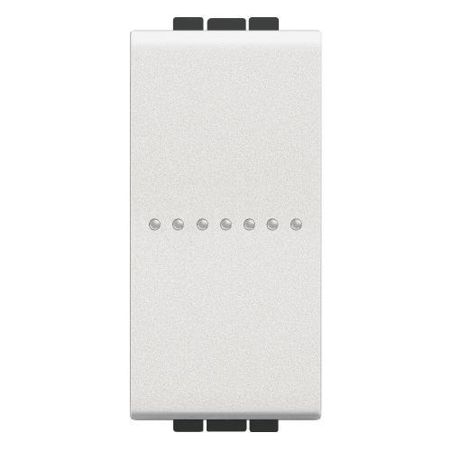 BTICINO - N4055AN Бутон Аксиален обикновен 1 модул бяло Livinglight
