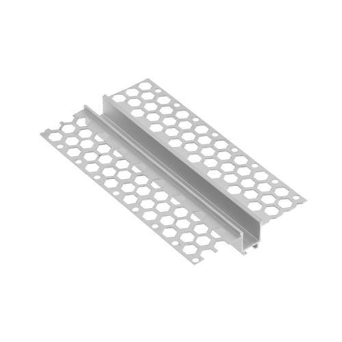 GTV Lighting - Алуминиев профил за лед лента за вграждане в гипсокартон прав 3м. PA-GLAXGKL3M-00