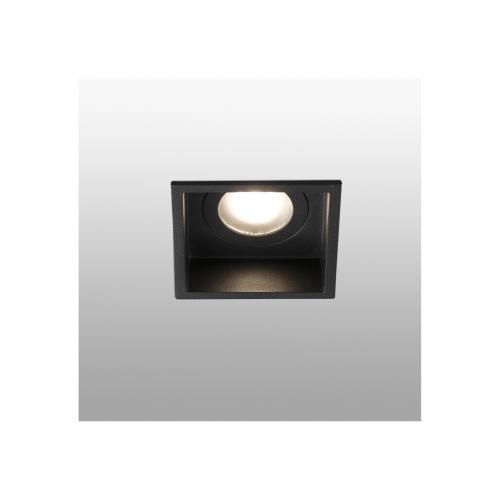 FARO - HYDE Black square recessed lamp Ref.40117
