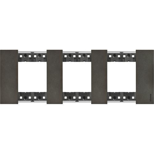 BTICINO - Рамка 3x2 мод. немски стандарт цвят Космос Living Now Bticino KA4802M3NG