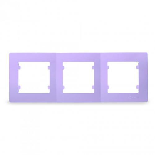 MAKEL - Тройна рамка светло лилава Lillium Natural Kare 32095703
